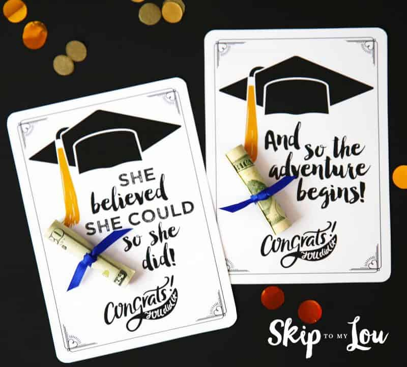 graphic relating to Graduation Cards Printable identified as No cost Commencement Playing cards with Sure Prices and Money!