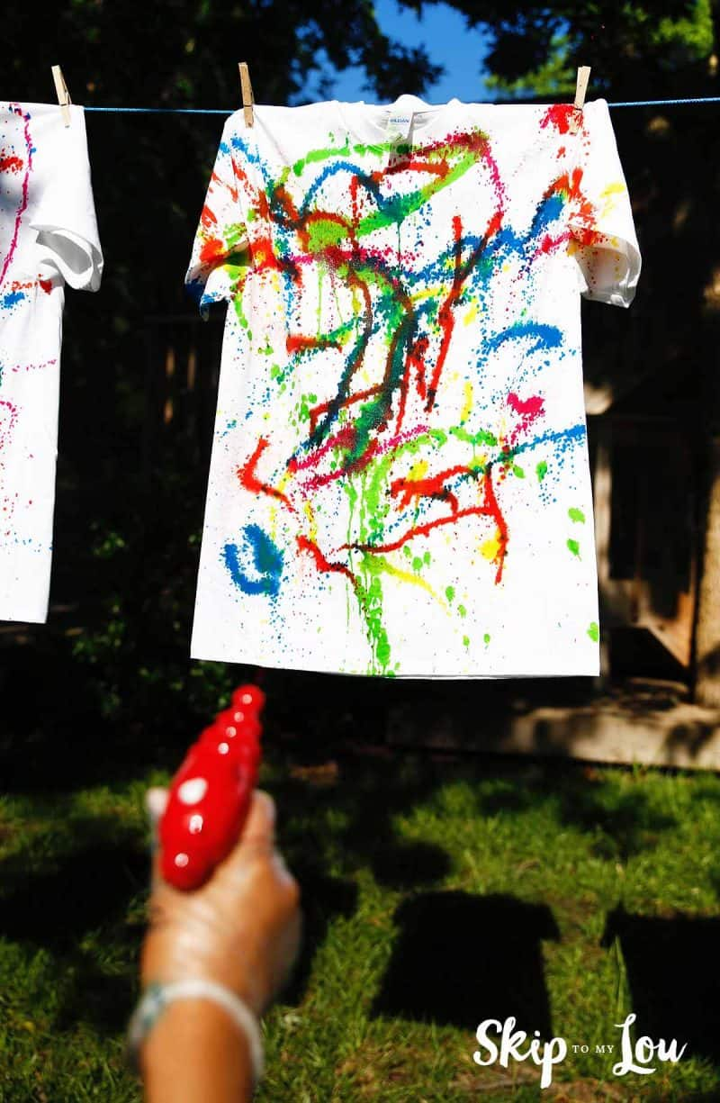 kids activities tie dye