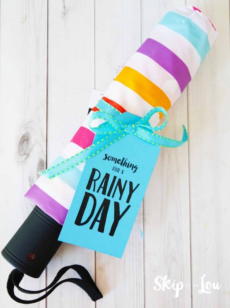 something for a rainy day gift creative way to give money