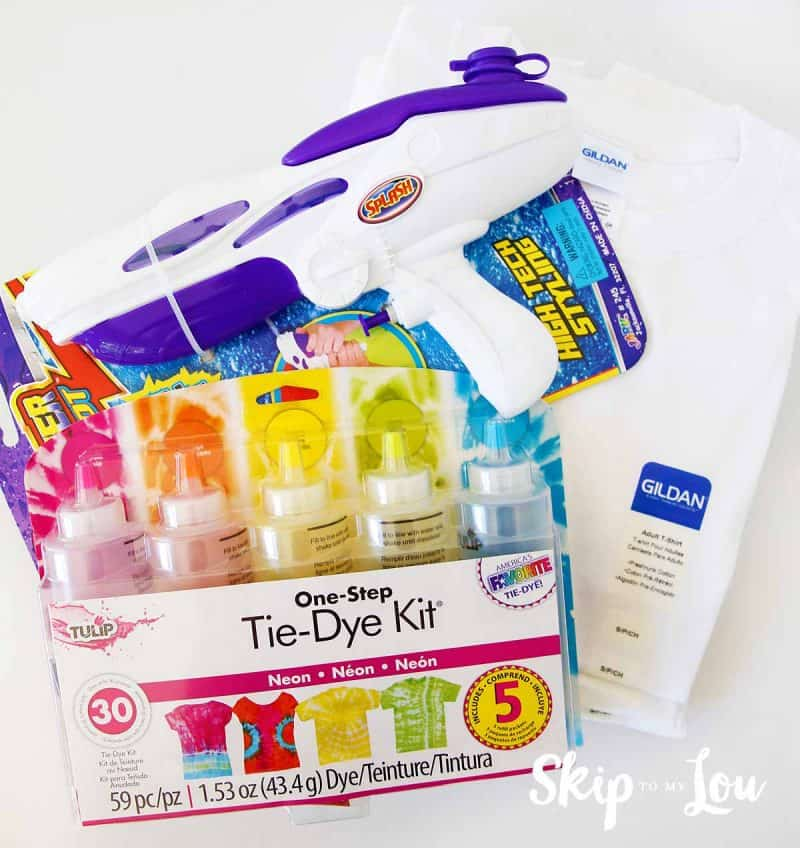 tie dye supplies