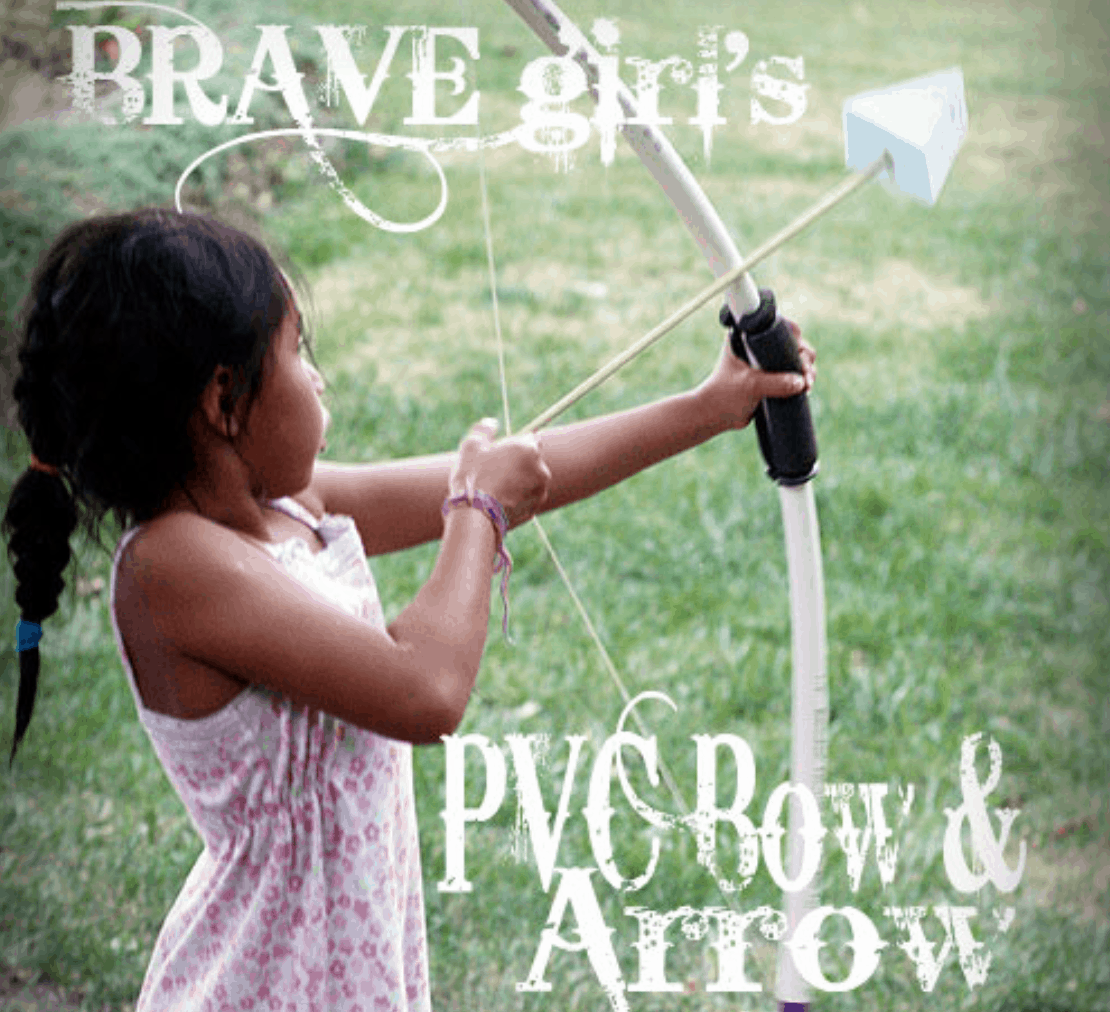 How To Make A Bow And Arrow Out Of PVC