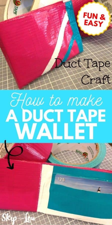 duct tape wallet PIN