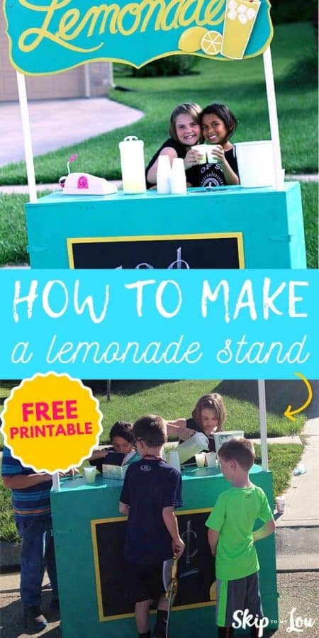 how to make a lemonade stand PIN