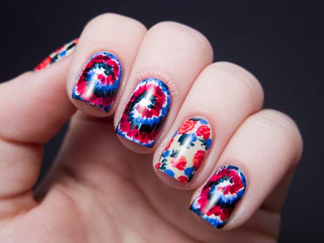 Fourth Of July Nails Skip To My Lou