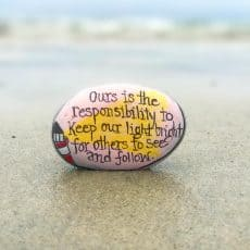 spread kindness with painted rocks