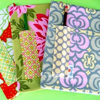 Fabric Notepad Cover Pattern