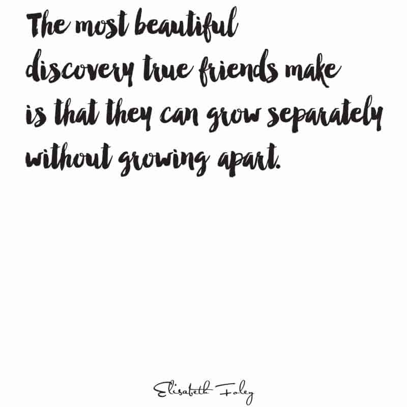 Growing Apart Quotes: 25 Beautiful Friendship Quotes