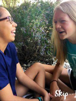 kids telling jokes