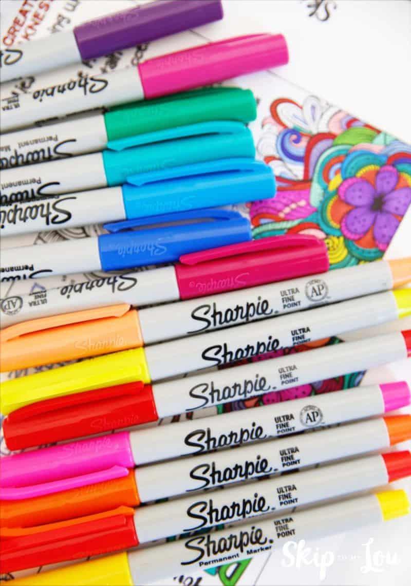 sharpie markers fine point