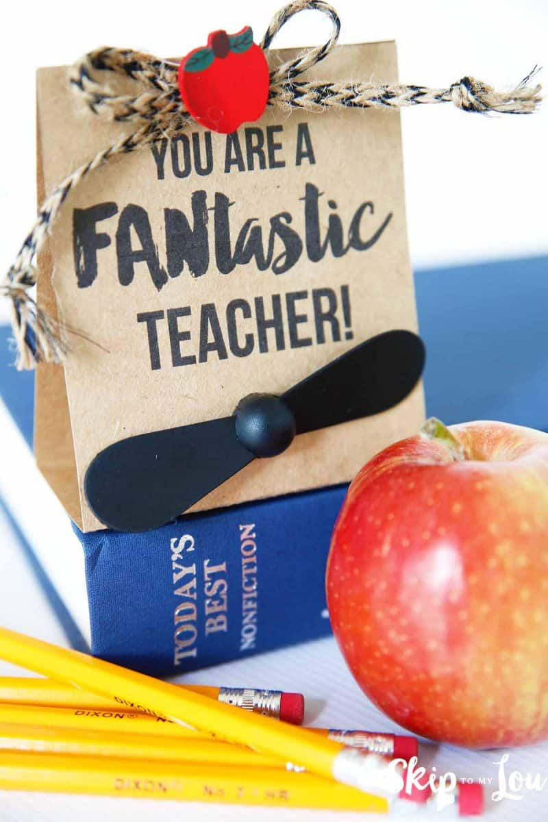 FANtastic phone fan teacher gift