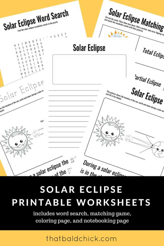 this solar eclipse craft for kids is fun and easy