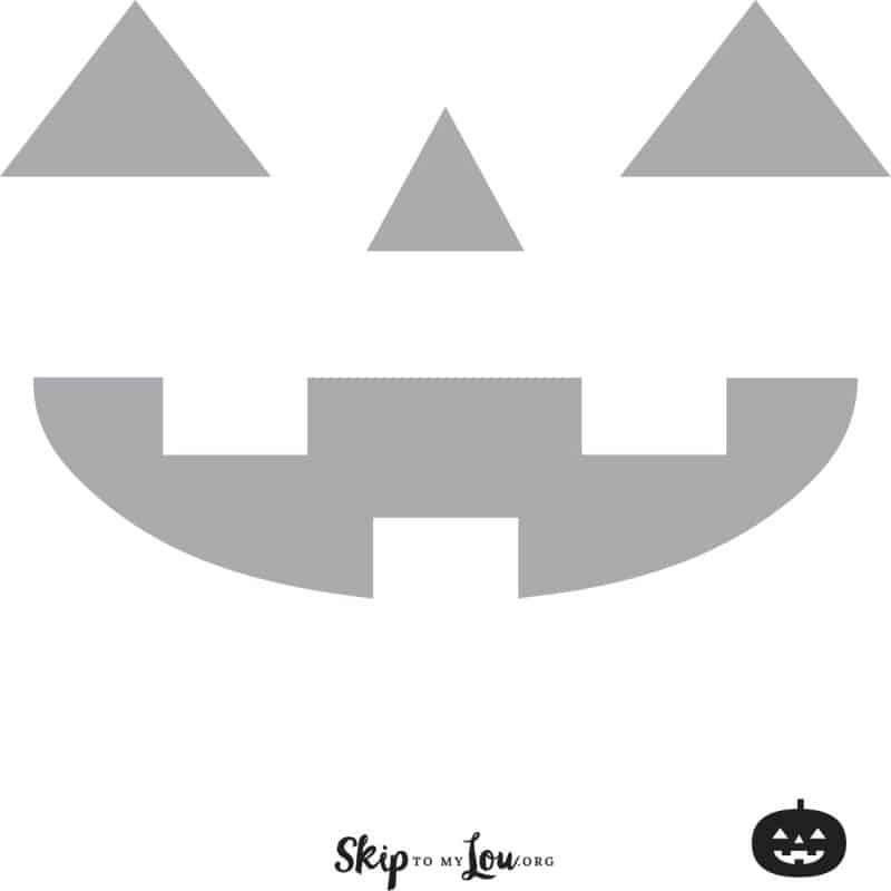 easy pumpkin carving stencil