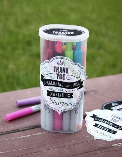marker teacher gift