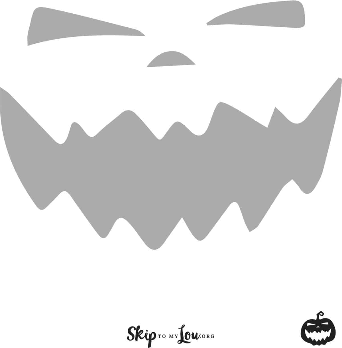 graphic relating to Pumpkin Outlines Printable named Great No cost printable pumpkin carving stencils - Pass up toward my Lou