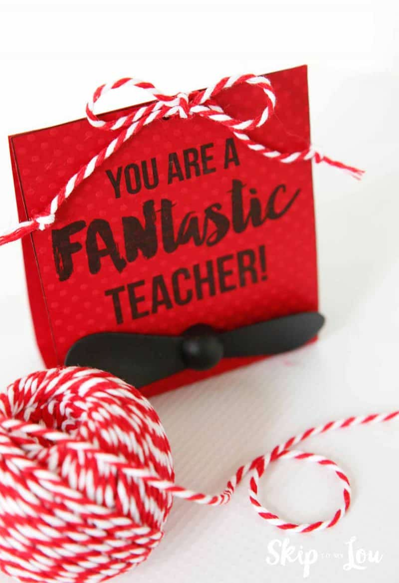 tie up teacher card