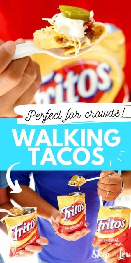 walking tacos for crowds PIN