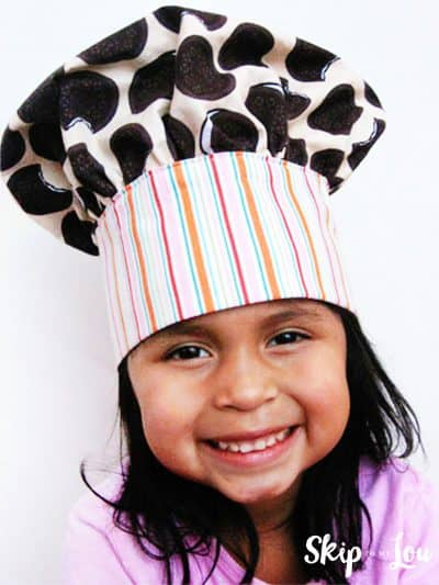 DIY childs chef costume