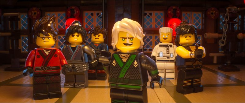 ninjago movie characters