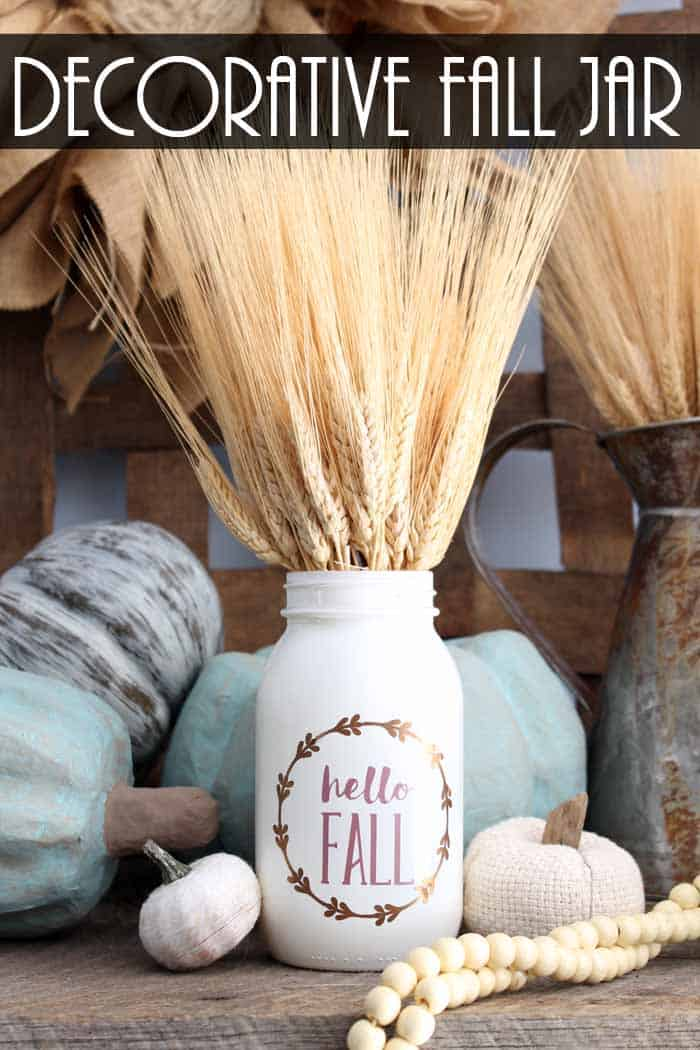 59 Incredibly Simple Rustic Décor Ideas That Can Make Your: Fall Mason Jar Crafts