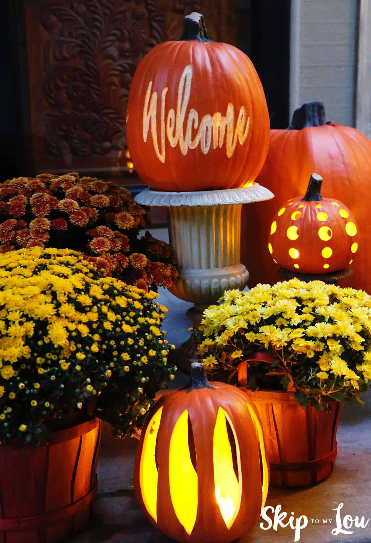 : fall decorating ideas with pumpkins - www.pureclipart.com