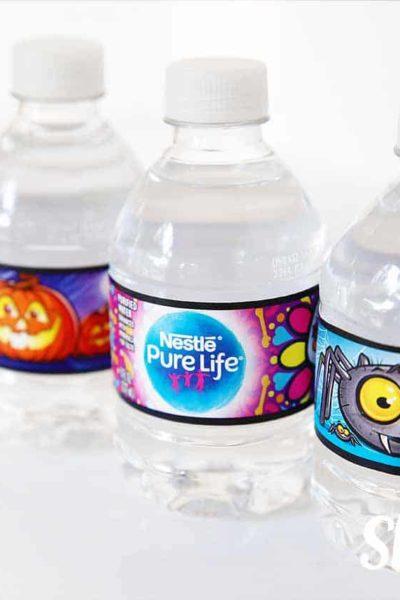 nestle halloween waters