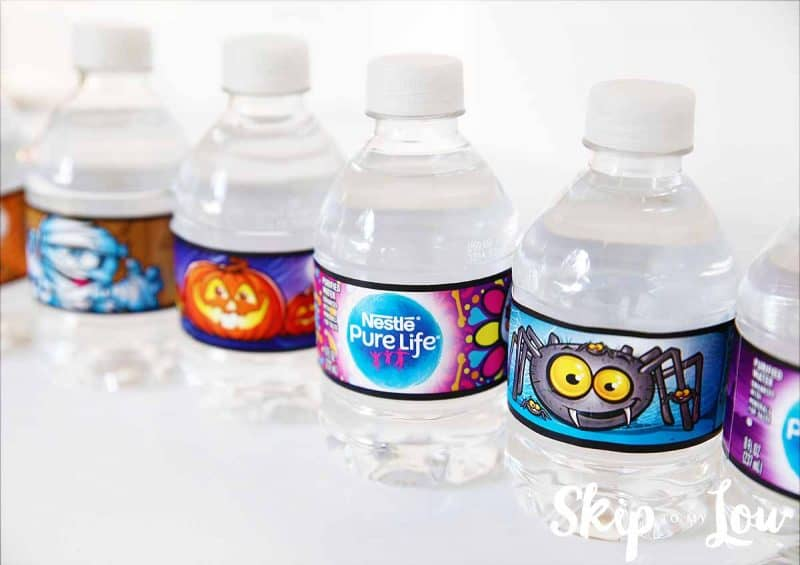 nestle halloween waters