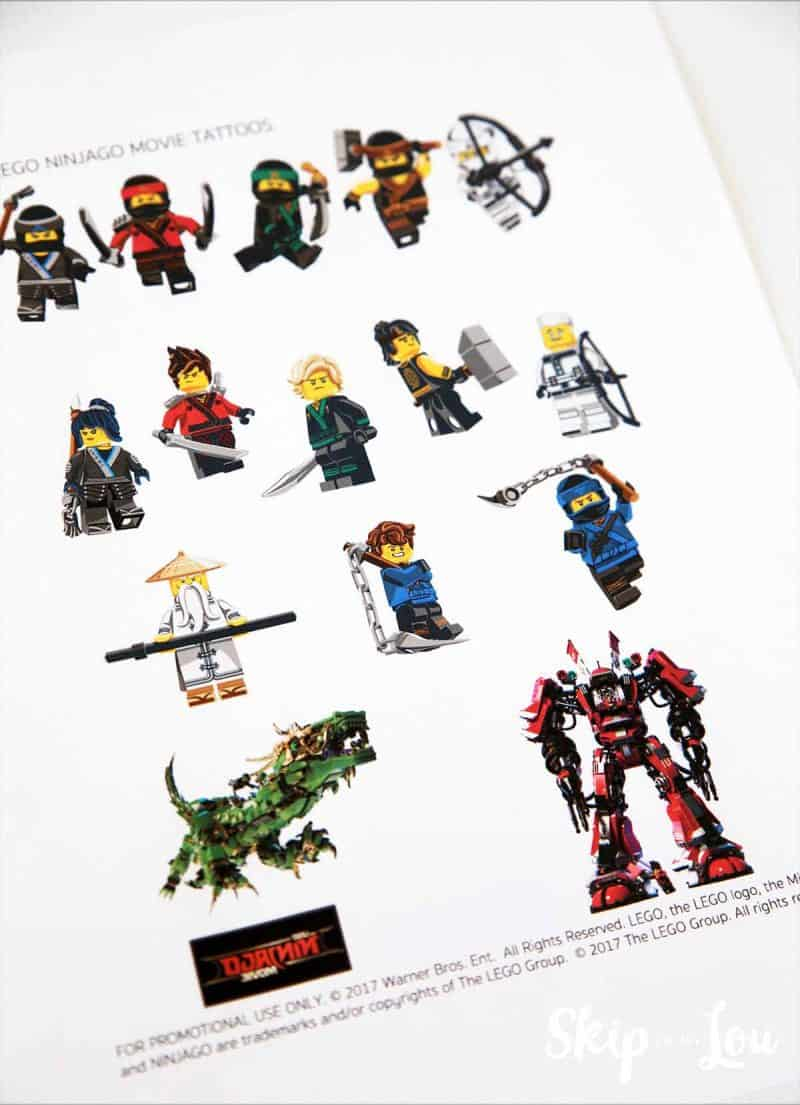 the lego movie ninjago tattoos