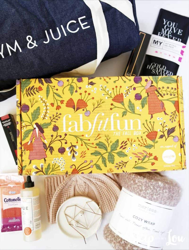 whats inside fall fabfitfun box