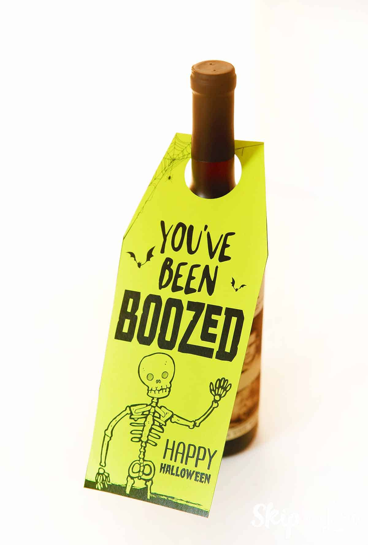 photo relating to You've Been Boozed Printable identified as Youve Been BOOzed Pass up Toward My Lou
