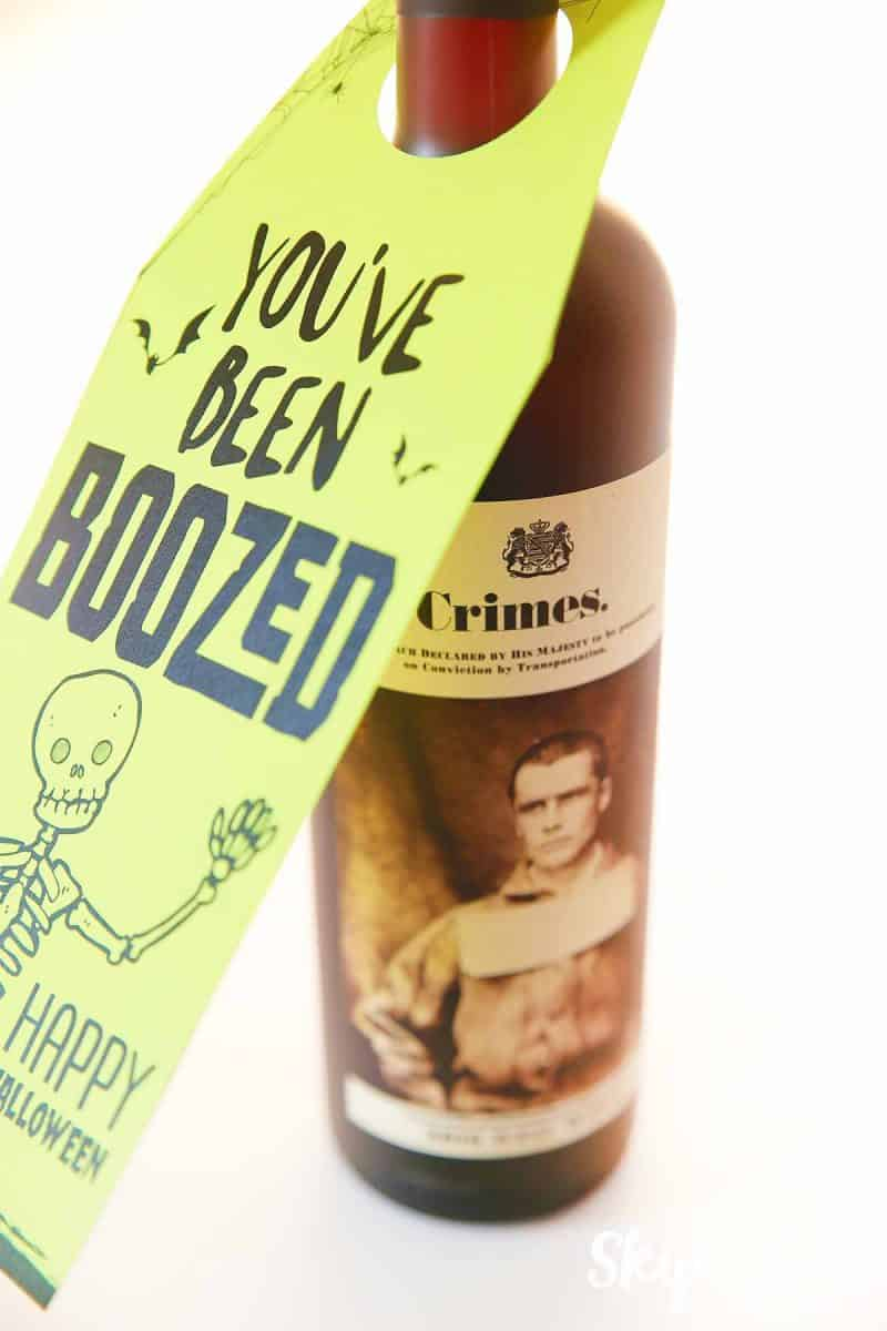 graphic about You've Been Boozed Printable called Youve Been BOOzed Miss In the direction of My Lou