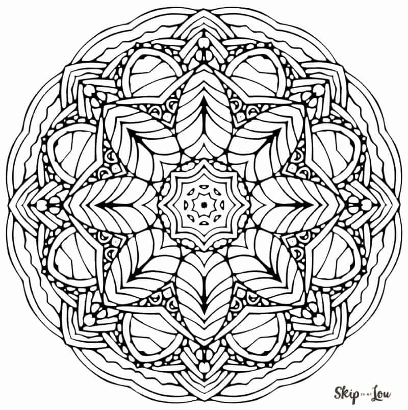 free coloring pages of mandalas - photo#17