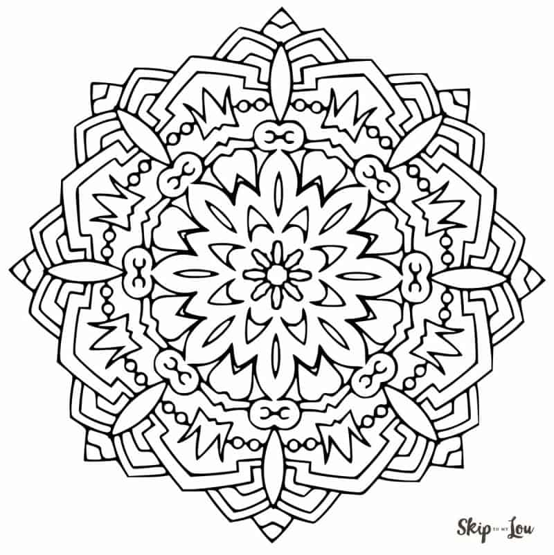 Color Your Stress Away With Mandala