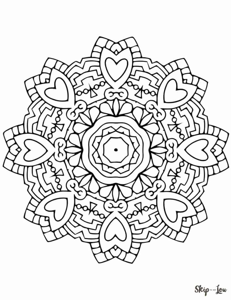 free coloring pages of mandalas - photo#41