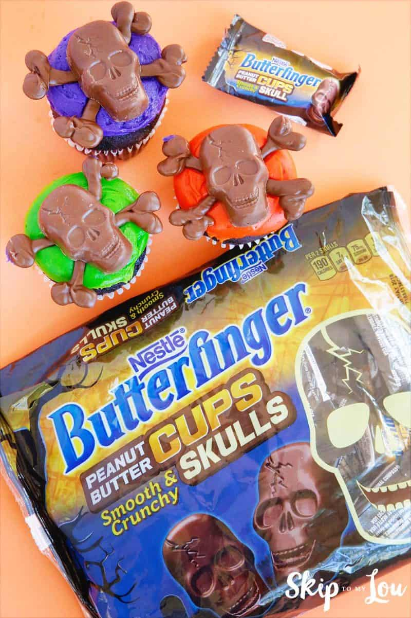 butterfinger skulls