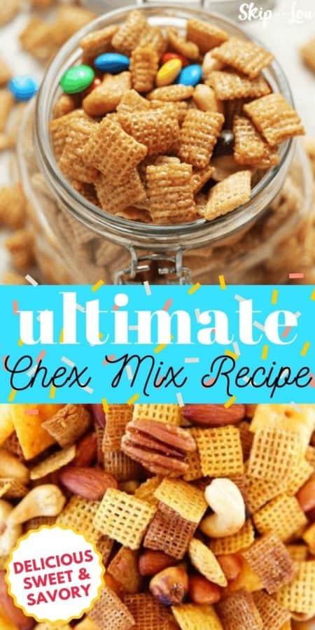 chex mix recipe PIN