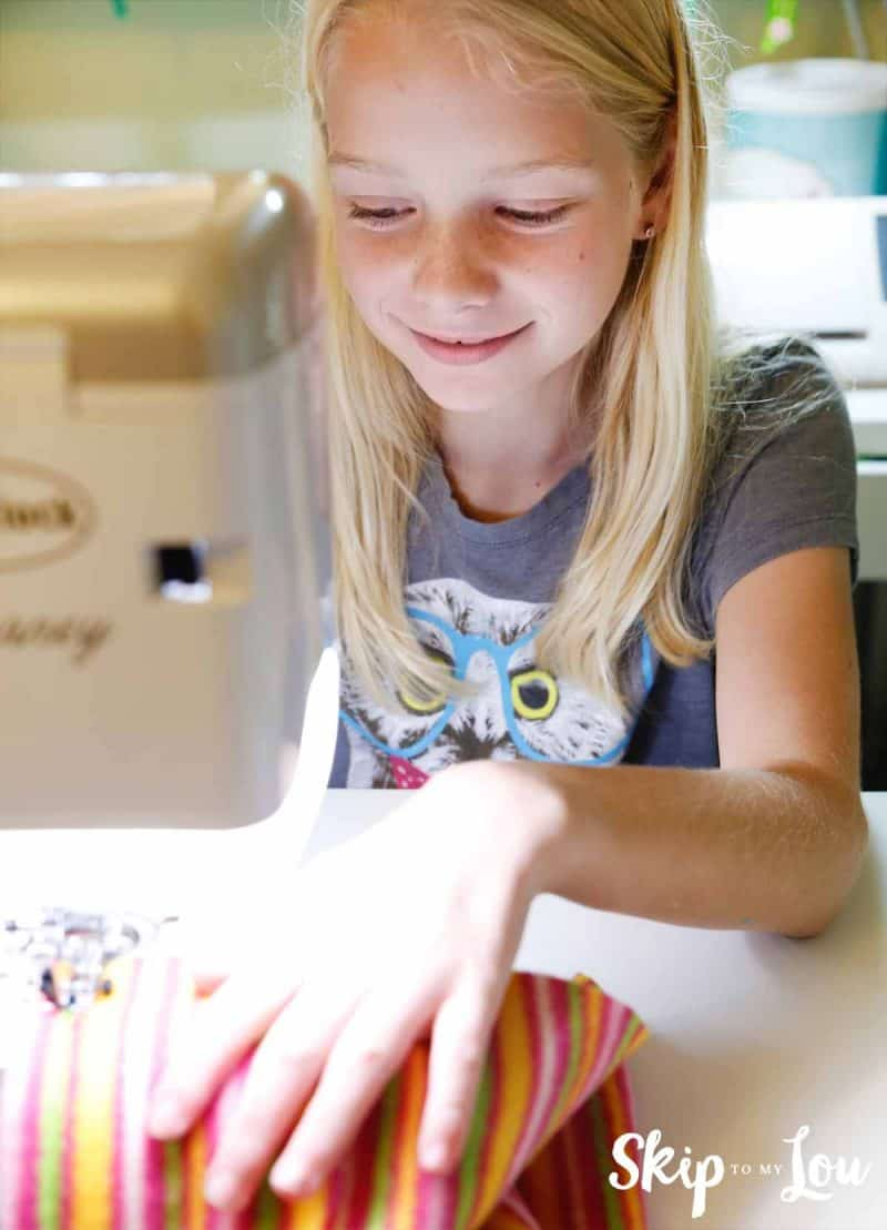 sewing on baby lock sewing machine
