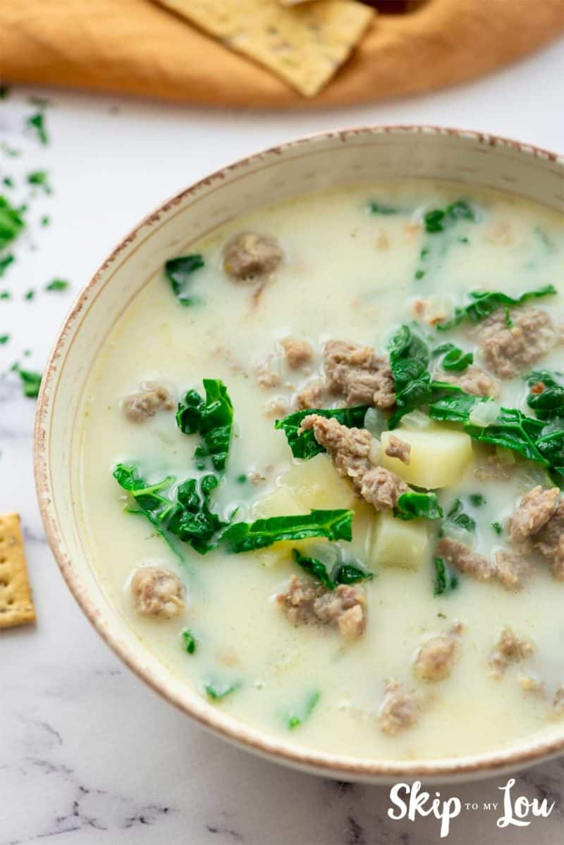 Zuppa Toscana Tuscan Soup Recipe
