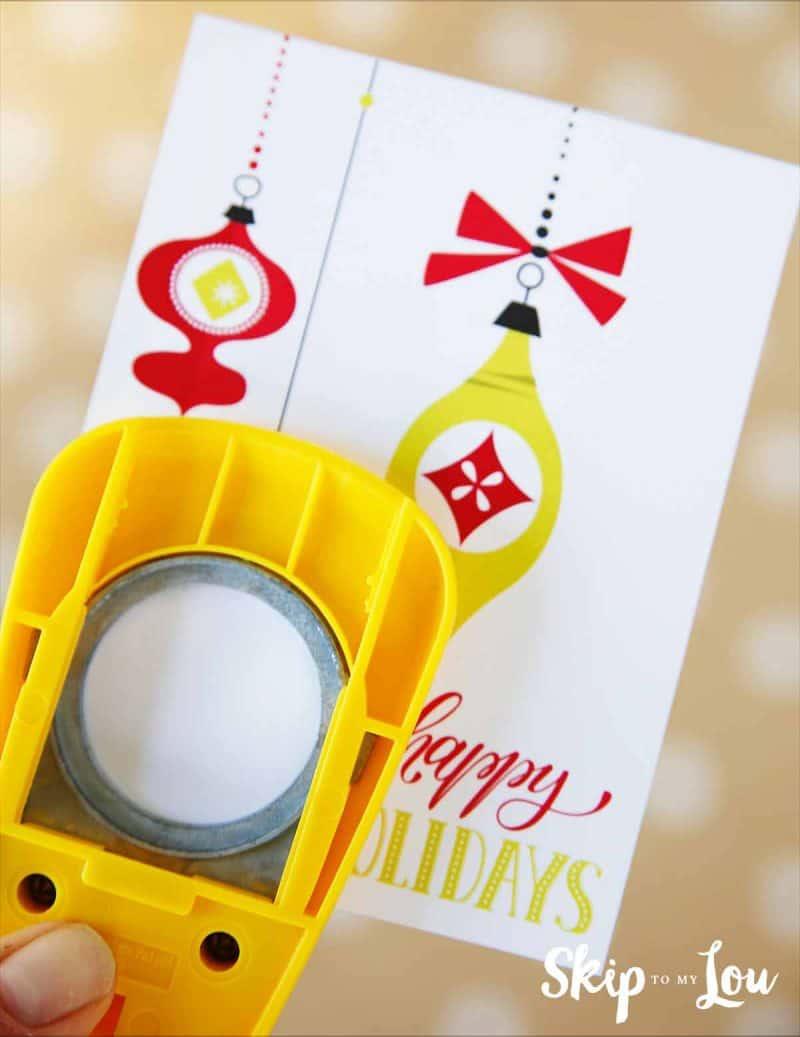 DIY EOS Holiday Card