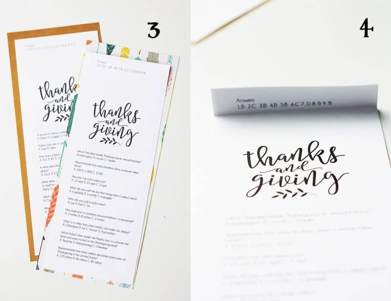 Thanksgiving Trivia {Free Printable} | Skip To My Lou
