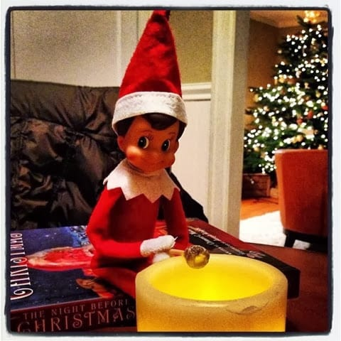elf of a shelf ideas