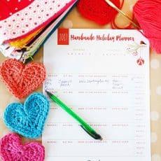 printable handmade gift planner