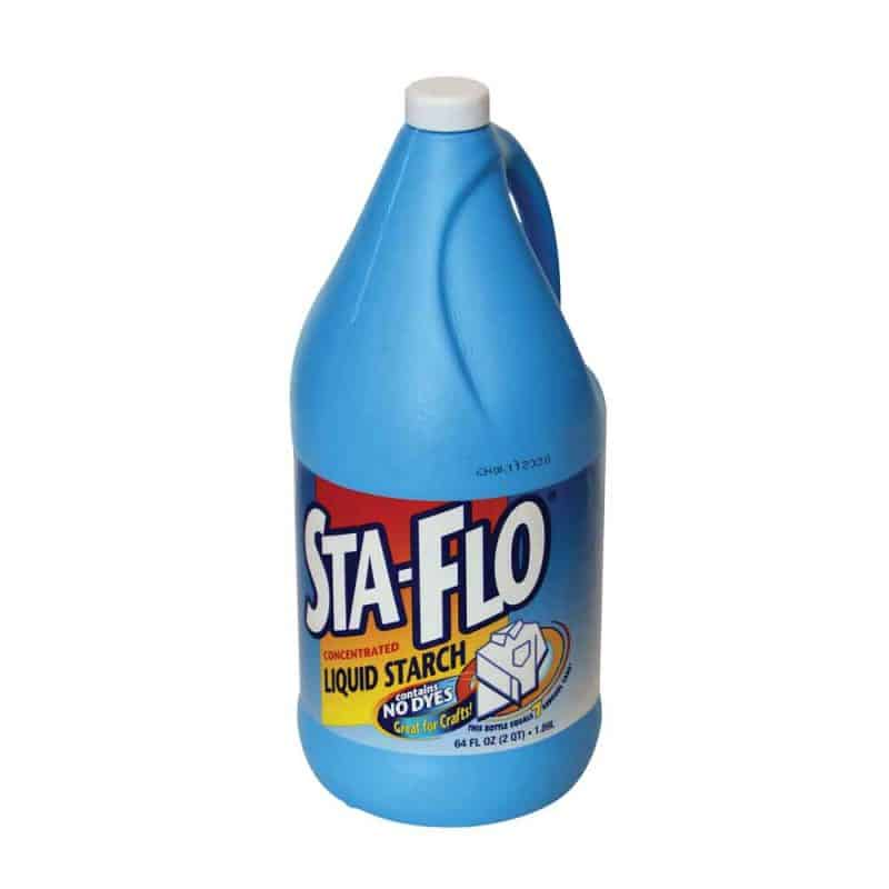 sty flo liquid starch bottle