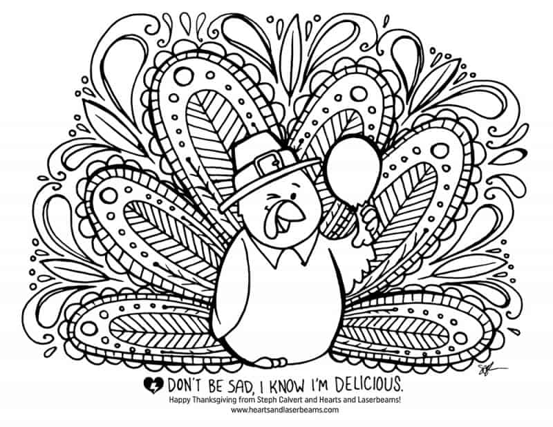turkey coloring pages com - photo#21