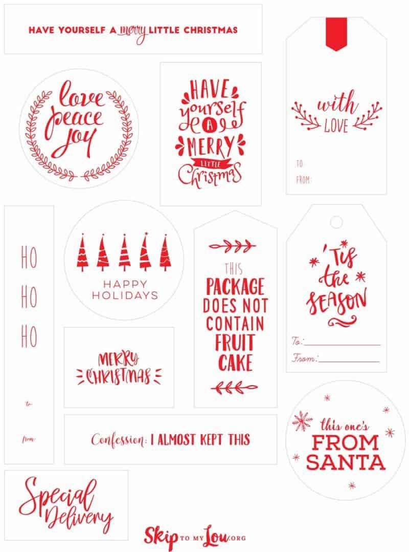 Christmas Tags.Christmas Tags Skip To My Lou