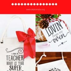 last minute christmas gifts Pinterest Graphic