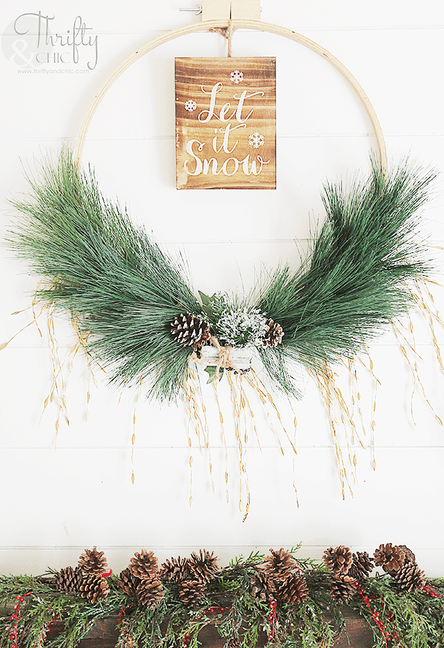 how to make homemade wreaths