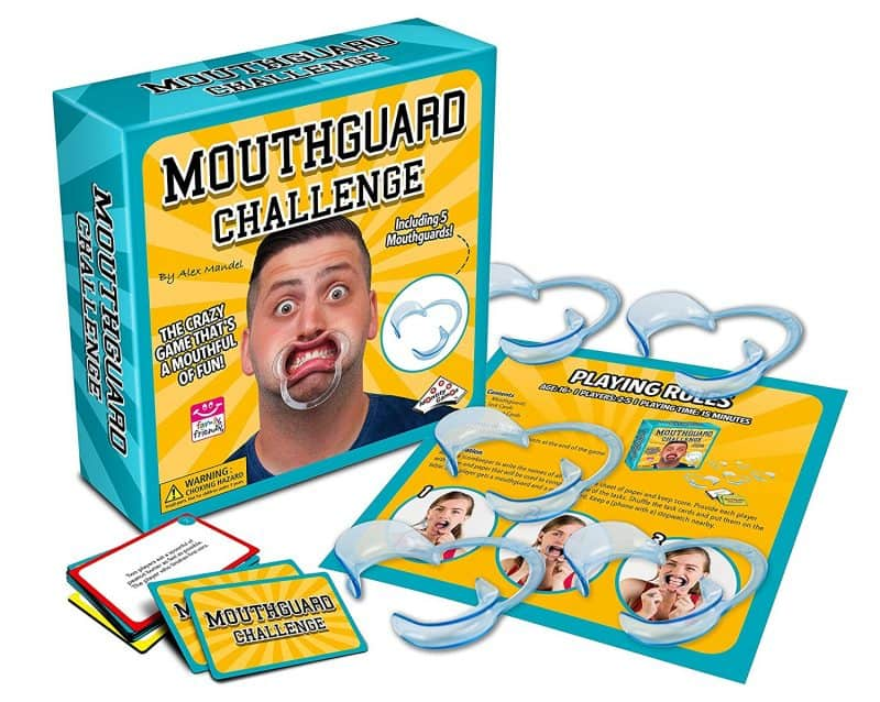 mouth guard game