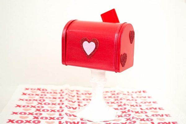 mailbox Valentine box