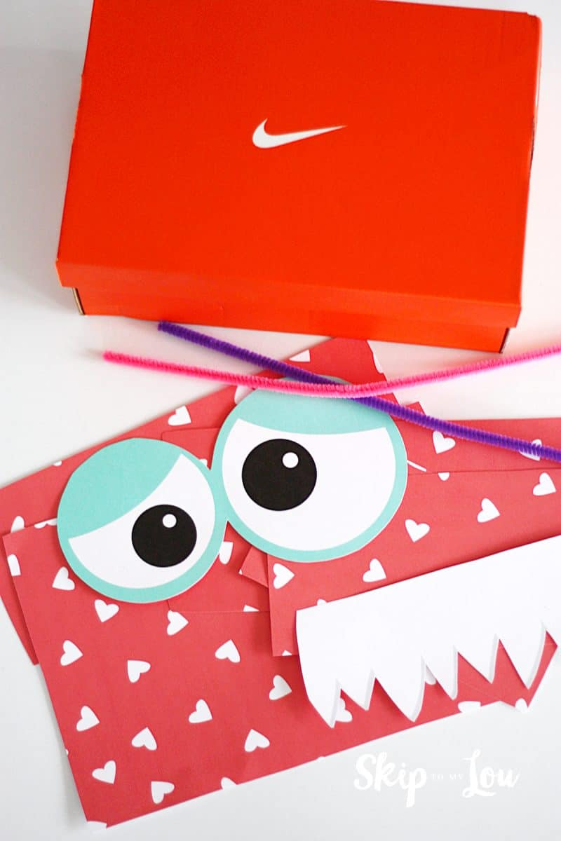 Monster Valentines Box