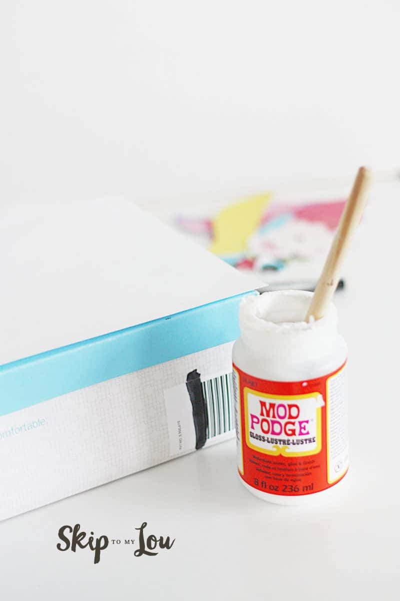 Unicorn Box DIY tutorial